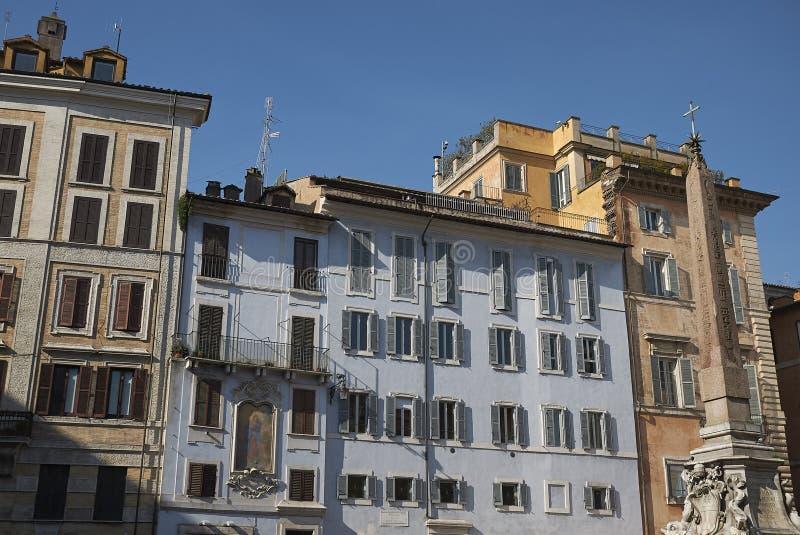 广场della Rotonda看法  免版税库存照片