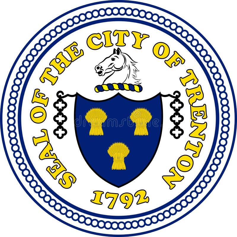 Żakiet ręki Trenton w Kalifornia, Stany Zjednoczone royalty ilustracja