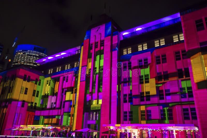 Żywy festiwal, Sydney, Australia obrazy royalty free