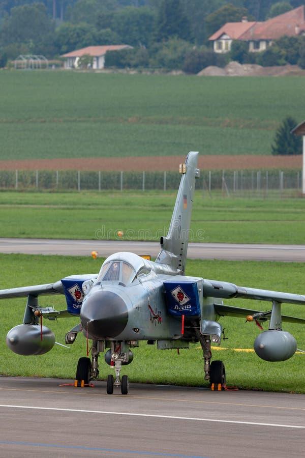 德国空军队Luftwaffe Panavia龙卷风IDS突击飞机 库存照片