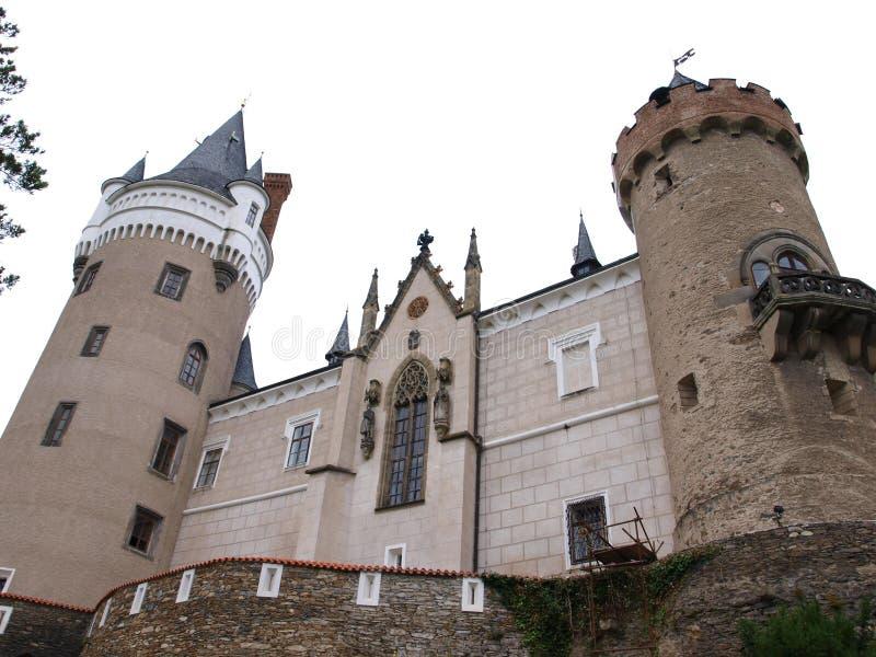 Žleby - Schleb - Czech Republic royalty free stock image