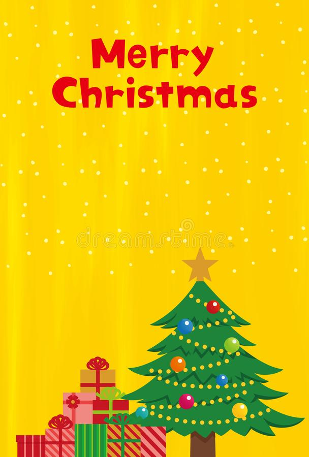 Christmas elements of golden background. vector illustration