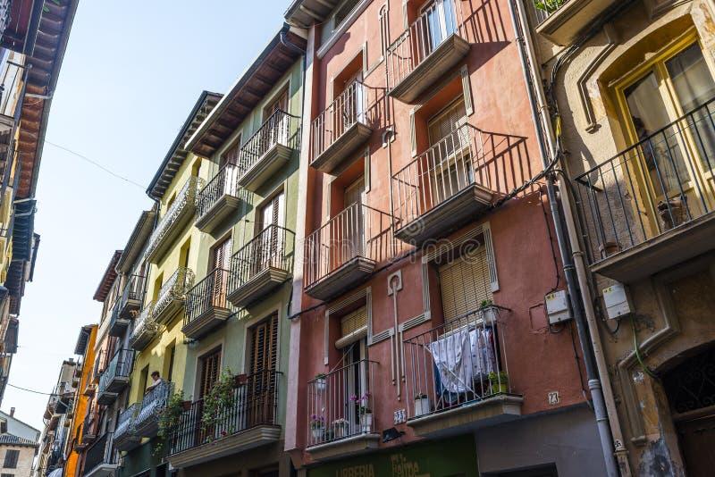 埃斯特拉,纳瓦拉地区,西班牙北部 免版税图库摄影