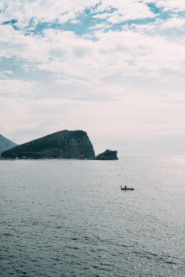 圣尼古拉斯海岛黑山 免版税库存图片