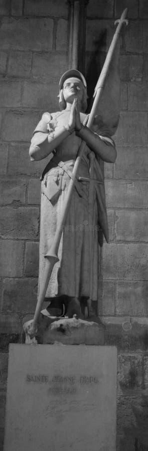 圣贞德雕象 免版税库存照片