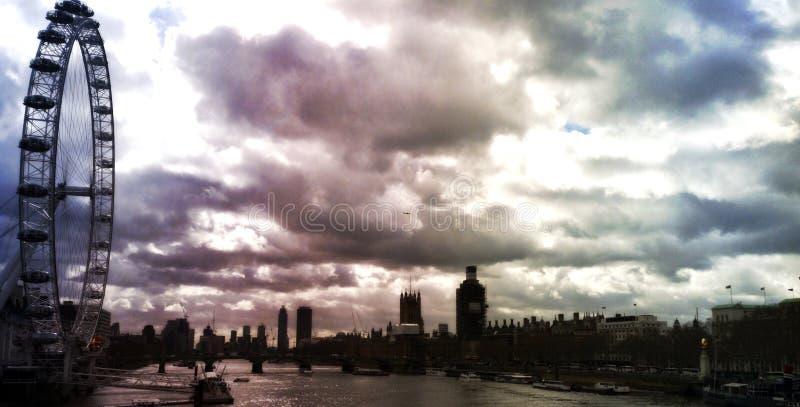 在滑铁卢附近的伦敦 免版税库存照片