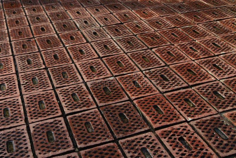 地垫设计在斯里兰卡 库存图片
