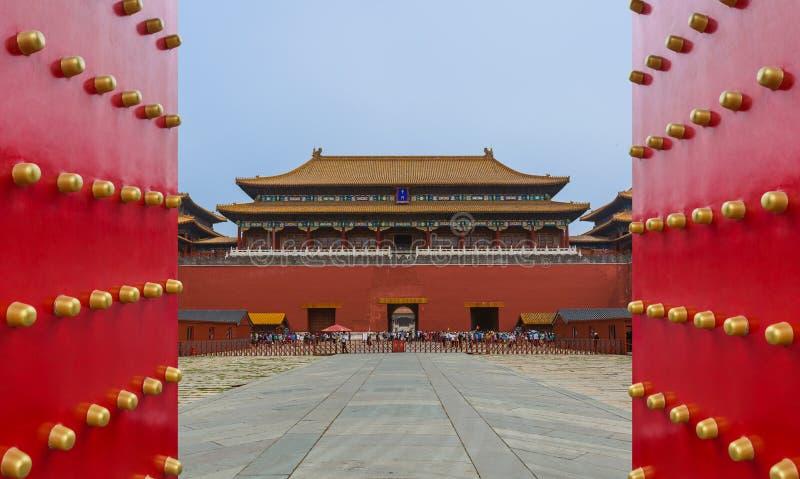 北京,中国- 2018年5月16日:Gugong紫禁城宫殿 库存照片