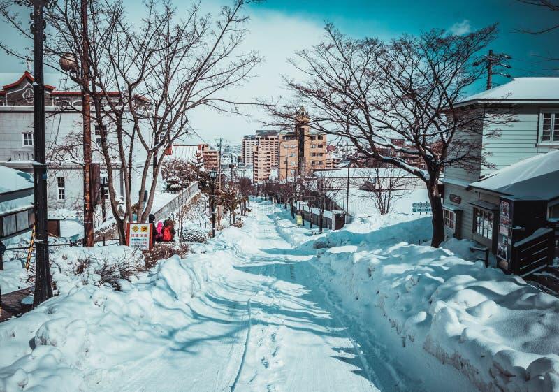 """åŒ-æµ·¼ ŒWinter Hokkaidoï do  do é de """" fotografia de stock"""