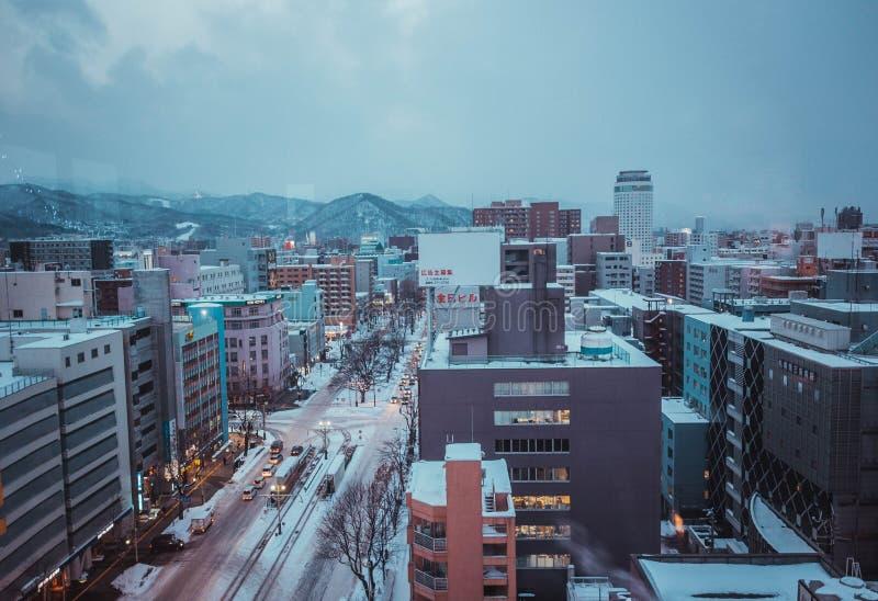"""åŒ-æµ·¼ ŒWinter Hokkaidoï do  do é de """" foto de stock"""