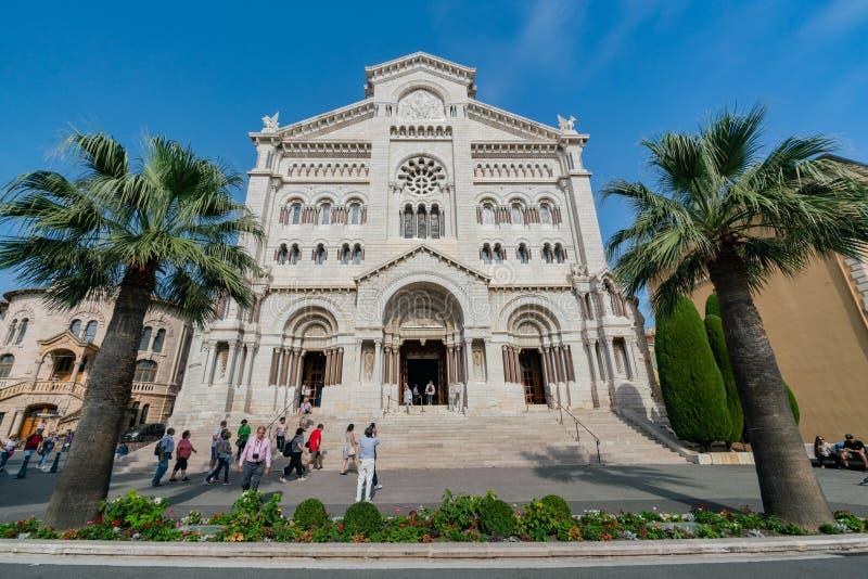 历史圣尼古拉斯大教堂的外视图 库存照片