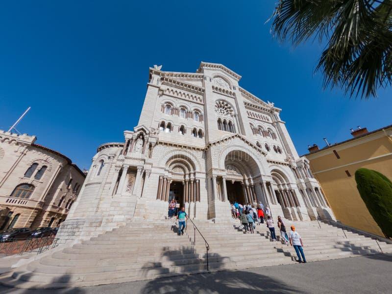 历史圣尼古拉斯大教堂的外视图 图库摄影