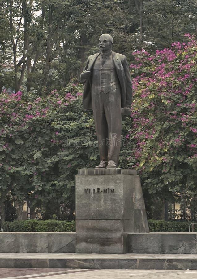 列宁雕象,列宁公园,河内,越南 免版税库存照片