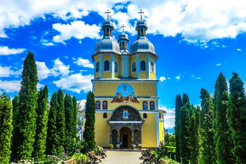 切尔诺夫策Banchensky修道院06 图库摄影