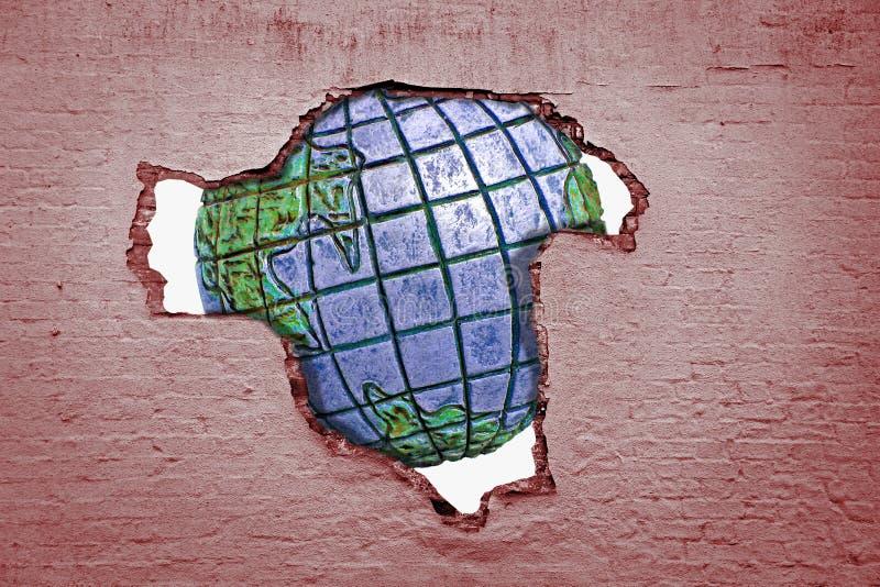 划分偏见全球性团结和平 图库摄影