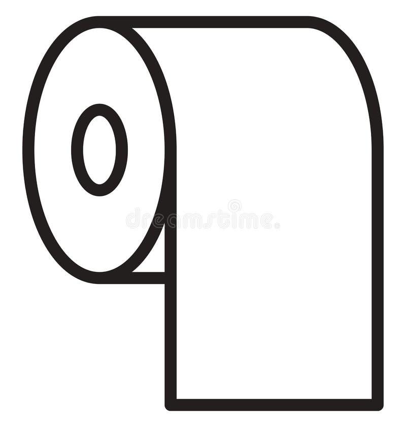 Łazienki Wektorowa ikona która może łatwo redagować lub modyfikująca royalty ilustracja