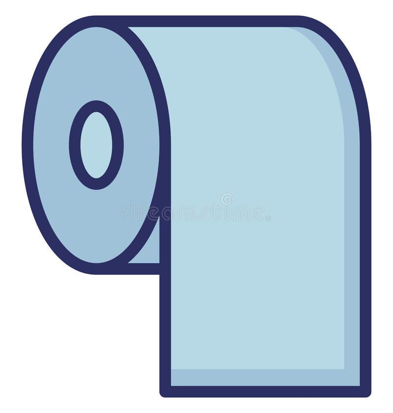 Łazienki Wektorowa ikona która może łatwo redagować lub modyfikująca ilustracja wektor