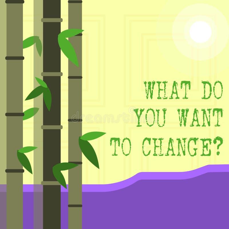 写笔记陈列什么您要对Changequestion 企业照片陈列的战略规划判定宗旨 向量例证
