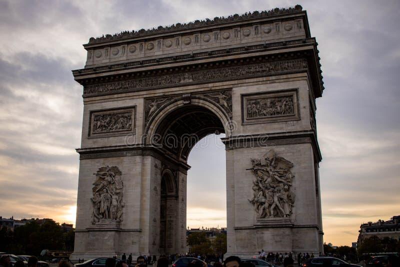 凯旋门de l toile ` Ã的‰ 免版税库存照片