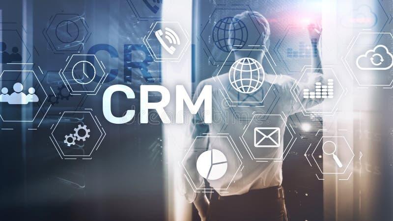 商业客户客户关系管理管理分析服务概念 关系管理 库存图片