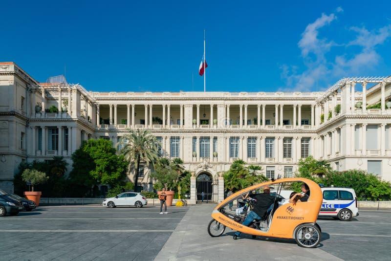 公爵Of Savoy的宫殿的外视图 库存图片