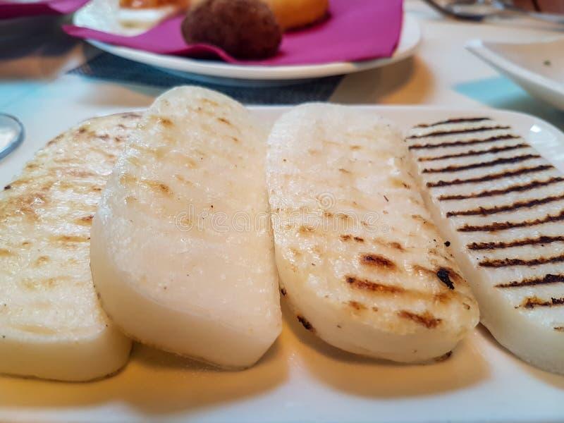 典型的威尼斯式食物 免版税库存图片