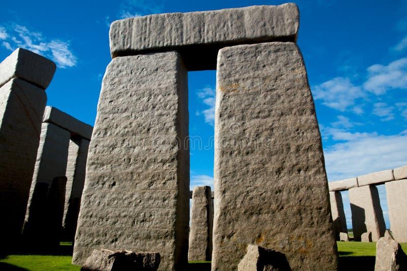 充分的巨石阵复制品 免版税库存照片