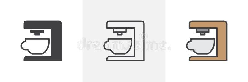 固定式搅拌器象 库存例证
