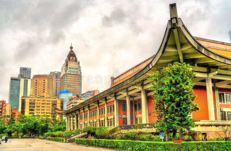 国父纪念馆在台北,台湾 库存照片