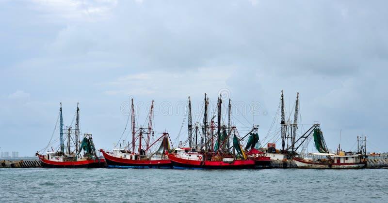 围网渔船小船 免版税图库摄影