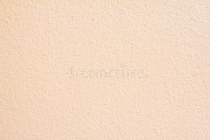 Ściana koloru kremowego beżowego papieru tekstury abstrakcjonistyczny pastelowy tło fotografia royalty free