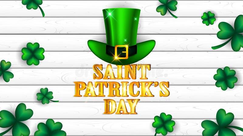 Świętego Patrick ` s dnia tło royalty ilustracja
