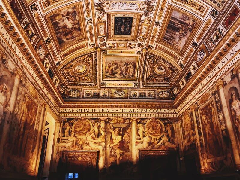 Święty anioł Roma obrazy royalty free
