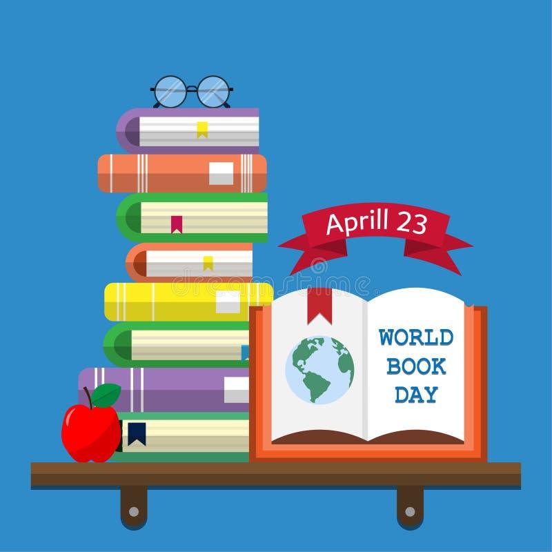 Światu Książkowy dzień 03 ilustracji