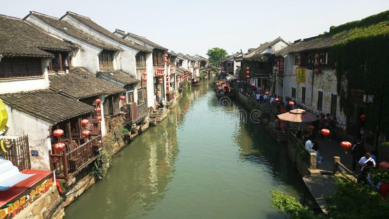 ű±å Shantang Jie Street ¡ ˜è ¡ — Suzhou lizenzfreie stockfotos