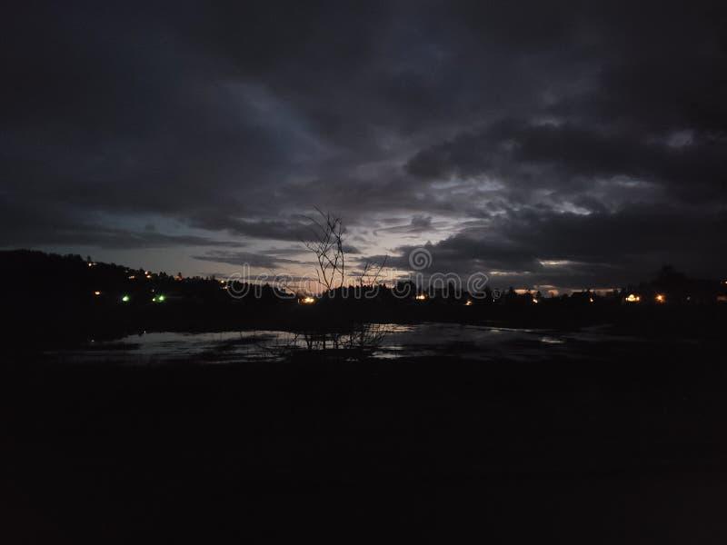 和平的城市 图库摄影