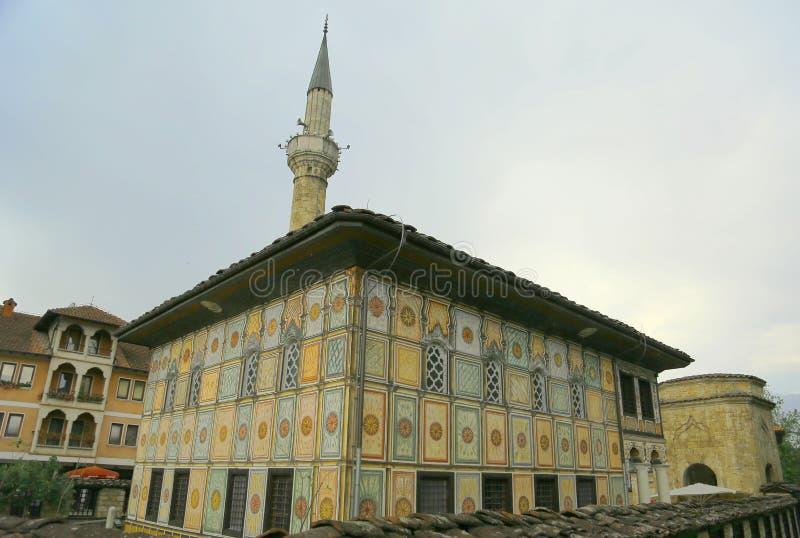 Åareny DÅ ¾ amija, Dekorujący Meczetowy Macedonia obraz stock