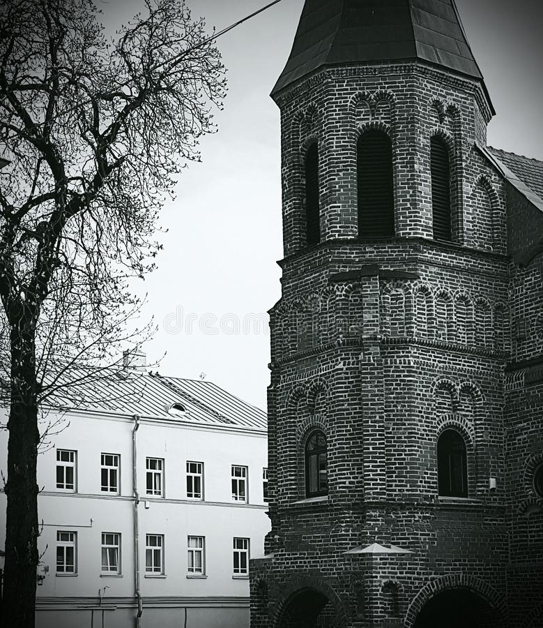 "Å-ventos GertrÅ ""DOS-Kirche lizenzfreie stockfotos"