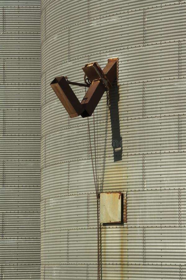 Åkerbruk silo royaltyfri fotografi