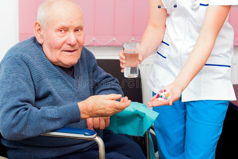 Åldras-förbundna sjukdomar arkivbilder