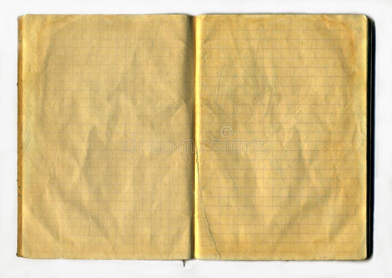 åldrig anteckningsbok royaltyfria foton