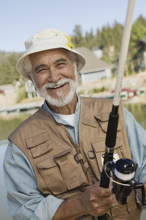 åldrig fiskemanmitt arkivfoton