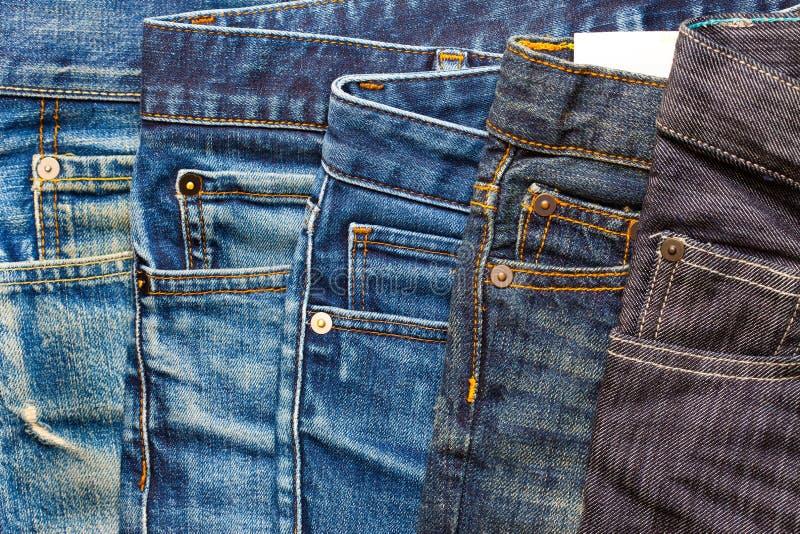 Åldrig jeans för mode royaltyfri fotografi