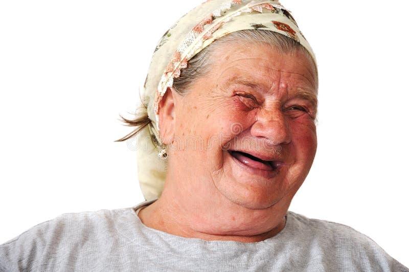 åldrig kvinnligåldring arkivbild