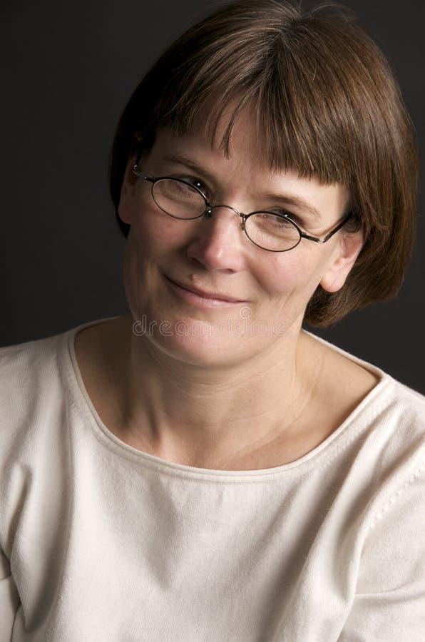 åldrig medelkvinna royaltyfria foton