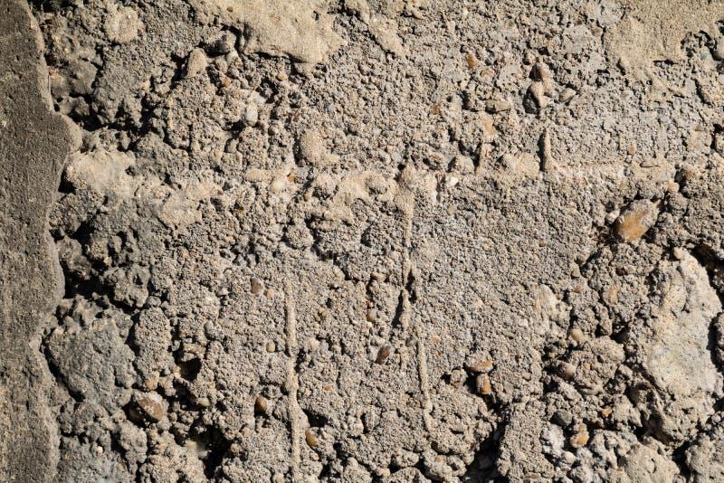 Åldrig textur för grungeväggyttersida i fattigt villkor arkivbilder