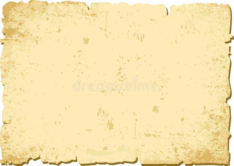 åldrigt papper stock illustrationer