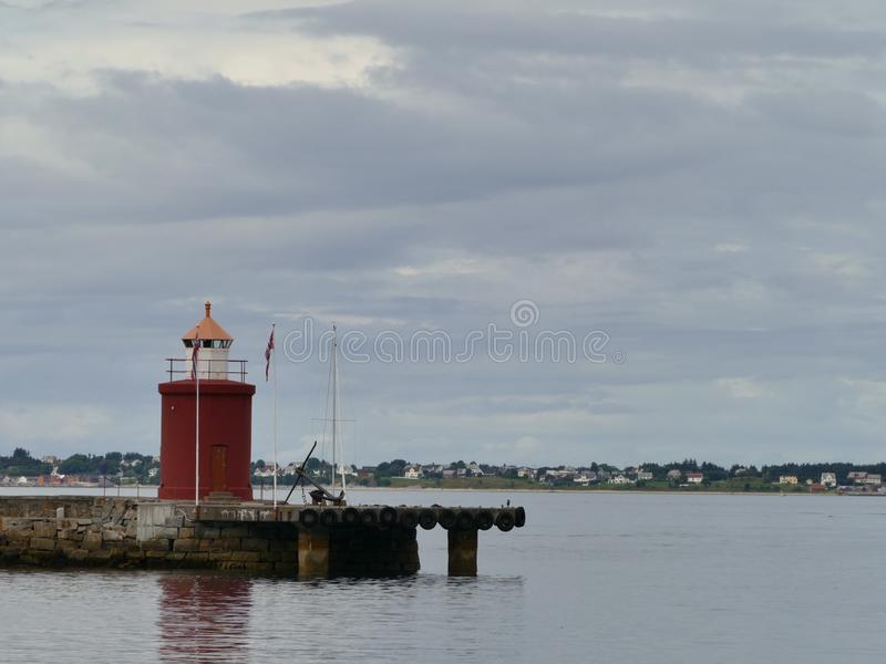 Ã…lesund& x27;s lighthouse royalty free stock photography