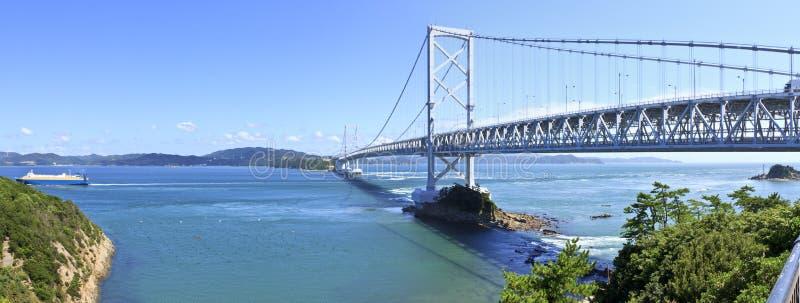 Ånaruto Brücke stockbild