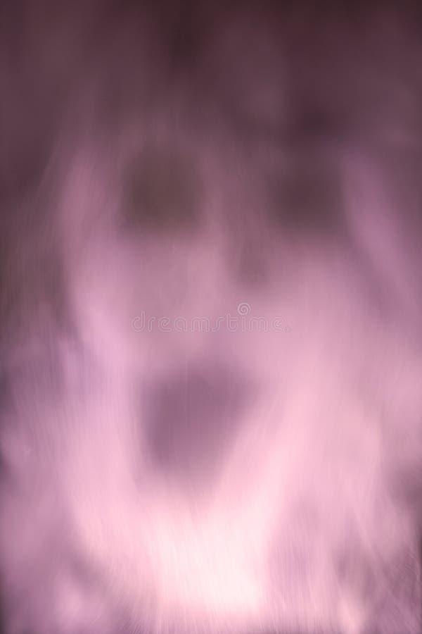 Ånga visar en spöke - abstrakt illustration royaltyfria foton